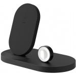 BELKIN bezdrátová QI nabíječka, 7.5W, pro Apple Watch/iPhone, s USB, černá, F8J235vfBLK