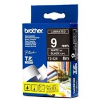Brother TZE-325,  černá/bílá, 9mm, TZE325
