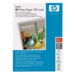 HP Laser Photo Paper,mat,A4,100 listů,200g/m2, Q6550A