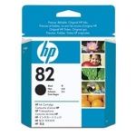 HP no 82 - černá ink. kazeta, CH565A, CH565A
