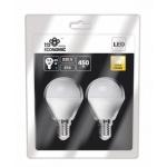 LED žárovka TB Energy E14 230, 2*5,5W, teplá bílá, LLTBEE1B05WWX20
