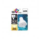 LED žárovka TB Energy GU10, 230V, 7W, Teplá bílá, LLTBEGUS0700001
