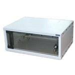 """Triton 19""""rozvaděč jednodílný 9U/400mm FLAT-PACK skl.dv., RXA-09-AS4-CAX-A1"""