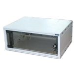 """Triton 19""""rozvaděč jednodílný 12U/400mm FLAT-PACK skl.dv., RXA-12-AS4-CAX-A1"""