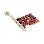 Addonics 2-portový USB 3.1 Type C PCIe 4X řadič, AD2U31PX4-C