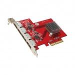Addonics 4-portový eSATA 6G PCIe 4X řadič, AD4ES6GPX4