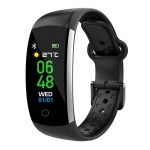 iGET FIT F2 Black - chytrý náramek, IP68, Multisport, LCD, 90mAh, Find Watch, F2 Black