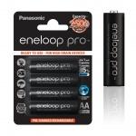 Panasonic Eneloop Pro AA NiMH 1,2V 2500mAh BL4, 11486