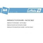 Comgad ALDA9 Fotopapír A4 180 g/m2, prem. matný, 50listů, PAP53