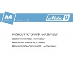 Comgad ALDA9 Fotopapír A4 180 g/m2, prem. matný,500listů, PAP55