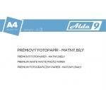 Comgad ALDA9 Fotopapír A4 200 g/m2, prem. matný, 20list, PAP60