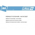 Comgad ALDA9 Fotopapír A4 200 g/m2, prem. matný, 500listů, PAP63