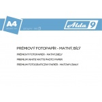 Comgad ALDA9 Fotopapír A4 220 g/m2, prem. matný, 100listů, PAP69