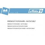 Comgad ALDA9 Fotopapír A4 250 g/m2, prem. matný, 100listů, PAP75
