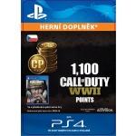 Sony Esd ESD CZ PS4 - 1,100 Call of Duty®: WWII Points (Av.22.11.2017), SCEE-XX-S0035295
