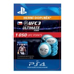Sony Esd ESD CZ PS4 - EA SPORTS™ UFC® 3 - 1050 UFC POINTS, SCEE-XX-S0036822