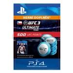 Sony Esd ESD CZ PS4 - EA SPORTS™ UFC® 3 - 500 UFC POINTS, SCEE-XX-S0036872