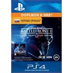 Sony Esd ESD SK PS4 - STAR WARS™ Battlefront™ II: Deluxe - Upgrade (Av. 17.11.2017), SCEE-XX-S0035190