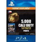 Sony Esd ESD SK PS4 - 5,000 Call of Duty®: WWII Points (Av.22.11.2017), SCEE-XX-S0035239