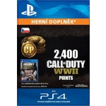 Sony Esd ESD SK PS4 - 2,400 Call of Duty®: WWII Points (Av.22.11.2017), SCEE-XX-S0035276