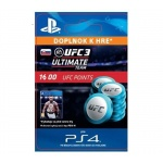 Sony Esd ESD SK PS4 - EA SPORTS™ UFC® 3 - 1600 UFC POINTS, SCEE-XX-S0036850
