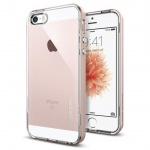 OCHRANNÝ KRYT (TPU+HARD) SPIGEN Neo Hybrid Crystal PRO APPLE IPHONE 5 - ROSE GOLD, HOUAPIP5SPROGO