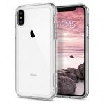 Kryt Spigen Crystal Hybrid pro Apple iPhone XS/X, 063CS25140