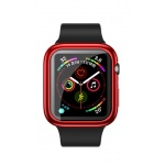 USAMS BH486 TPU Full Protective Pouzdro pro Apple Watch 44mm Red, 6958444964782
