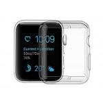 USAMS BH485 TPU Full Protective Pouzdro pro Apple Watch 40mm Transparent, 6958444964768