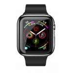 USAMS BH485 TPU Full Protective Pouzdro pro Apple Watch 40mm Black, 6958444964744