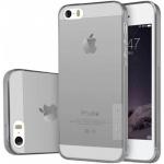 Nillkin Nature TPU Pouzdro Grey pro iPhone 5/5S/SE, 8595642223082
