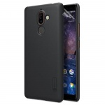 Nillkin Super Frosted Zadní Kryt Black pro Nokia 7 Plus, 6902048154858