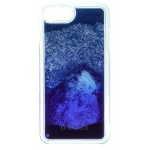 Guess Liquid Glitter Hard Pouzdro Blue Degrade pro iPhone 6/6S/7 Plus, 3700740398210