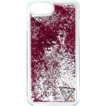 Guess Liquid Glitter Hard Pouzdro Raspberry pro iPhone 6/6S/7 Plus, 3700740398173