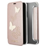 Guess Studs and Sparkle Book Rose Gold iPhone X, 3700740407462