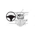 Brodit ProClip montážní konzole pro  Yaris 06-, PBR-853741