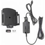Brodit držák do auta na mobilní telefon nastavitelný se skrytým nabíjením š.75-89 mm, tl.6-10mm, PBR-527628