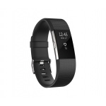 Fitbit Charge 2 Black Silver - Small, FB407SBKS-EU