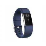 Fitbit Charge 2 Blue Silver - Small, FB407SBUS-EU