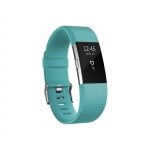 Fitbit Charge 2 Teal Silver - Small, FB407STES-EU