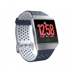 Fitbit Ionic Adidas Edition - Ink Blue & Ice Gray / Silver Gray, FB503WTNV
