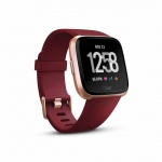 Fitbit Versa - Merlot Band / Rose Gold Case, FB505RGRD-EU