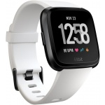 Fitbit Versa - White Band / Black Case, FB505GMWT-EU