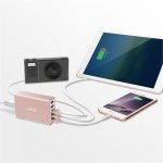 Lab.C X5 5Port USB Wall Charger - Rose Gold, LABC-587-RG_KR