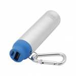 BOX Products 2000mAh Carabiner Pocket Charger - bl, BX-BPB2000BLU