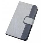 Aligator Pouzdro BOOK CHEERY vel. XL (5-5,5 inch) šedé, PBOCHEXLGY