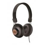 MARLEY Positive Vibration 2.0 - Signature Black, sluchátka přes hlavu s ovladačem a mikrofonem, EM-JH121-SB