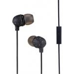 MARLEY Little Bird - Black, sluchátka do uší s ovladačem a mikrofonem, EM-JE061-BK