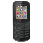 Nokia 130 Single Sim 2017 Black, A00028519