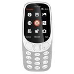 Nokia 3310 Dual SIM 2017 Grey, A00028270